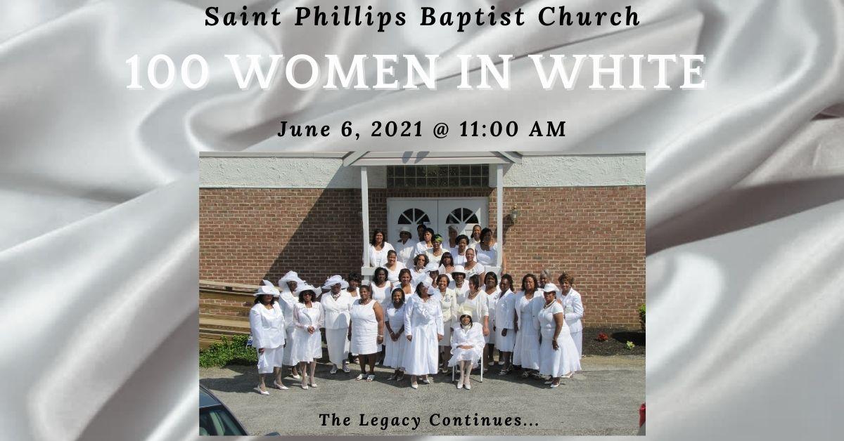 100 Women in White